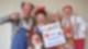 Clowns und Clowns mit Schild wir denken an Euch - R.SA Spendenmarathon 2020
