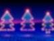 80er Neon Weihnachten