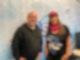 Hörerin Ines von der Heide mit Poschi im Studio RSA Musikministerin 2021