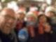 Pegeltester Marcus Poschlod mit Mandy und ihrer Truppe in Chemnitz