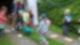 Super-Poschi beim Schubkarrenrennen