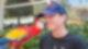 Junge Papagei Kuss